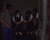 【JCレイプ動画】目出し帽を被った鬼畜達に拉致凌辱され、気が狂うまで犯され続ける制服女子たち・・・