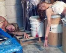 【リアルレイプ画像】強姦された後の悲壮感漂う女性の姿が残酷さを物語る・・・