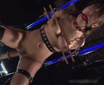 【SMレイプ動画】※全自動調教器具!監禁された巨乳美女が失神寸前のハードな拷問プレイ!