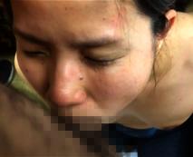 【無修正レイプ動画】ガチの罰処刑映像が流出される!静かに泣きながら苦痛に耐えイラマチオされ、生ハメされる陸上自衛女性隊員…