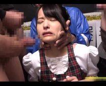 【集団レイプ】オタク客に輪姦凌辱される地下アイドルの少女!生チンポ数本で犯され精子まみれに…