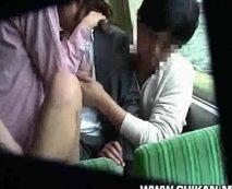 【痴漢レイプ】第3セクターの乗客の少ないバスでOLを輪姦凌辱する鬼畜DQNの犯行・・・