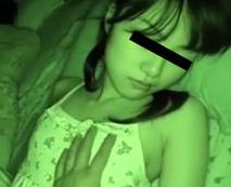 【JCレイプ】自慢の可愛い妹を夜這いしハメ撮り!処女を奪った近親相姦!