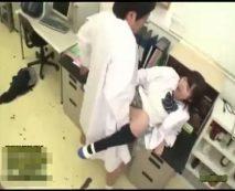 化学教師の鬼畜な犯行!女子生徒に手作りの媚薬を飲まして中出し凌辱…レイプ動画