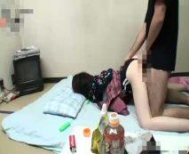 【無修正】酔いつぶれた女上司を寝取りレイプ!昏睡中に強制中出しされ妊娠確定…
