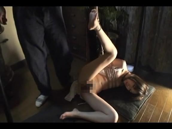 サイコ野郎の性奴隷にされた人妻!緊縛拘束され妊娠するまで続く無限中出し陵辱…レイプ動画
