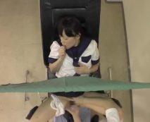 子宮検診中に糞医者に強姦される女子中〇生!怒張した生チンポの激しいピストンに号泣…レイプ動画
