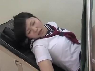 生理不順で産婦人科医に来た女子校生が医者に中出し陵辱される一部始終…レイプ動画